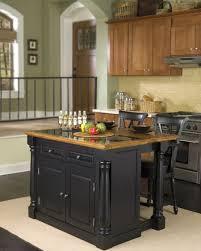Portable Kitchen Island Ideas Portable Kitchen Island Astonishing Dark Wooden Black Small