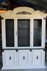 Black China Cabinet Hutch by Refinished Or Painted China Cabnet China Cabinet Antique White