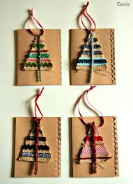 card idea burlap tree ornament gift darice