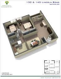 Uwaterloo Floor Plans 130 140 Lincoln Road Waterloo Park Property Managment Inc Park