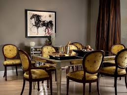 mirrored dining table eclectic dining room