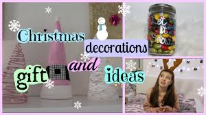 last minute christmas decorations and gift ideas youtube