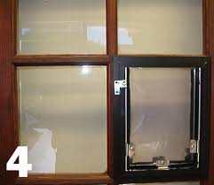 doggie door in glass door hale pet door custom orders