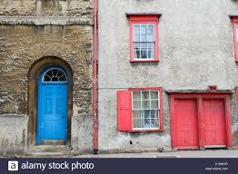 red front door terraced stock photos u0026 red front door terraced