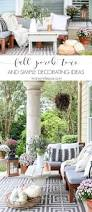 neutral fall porch decorating ideas and tour maison de pax