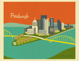 Pittsburgh Pa Map Pennsylvania Elevation Map Pennsylvania Outline Maps And Map
