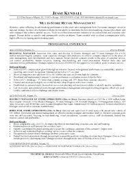 Resume Template Restaurant District Manager Resume Sample U2013 Topshoppingnetwork Com