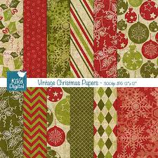 vintage christmas paper texture vintage christmas digital papers scrapbooking papers