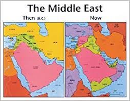 mid east map the middle east then and now testament middle east map