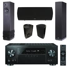 pioneer home theater receiver pioneer vsx 831 receiver w di 6 5r in wall speakers x2 bundle