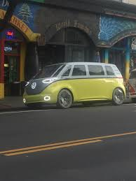 volkswagen minibus electric semi autonomous vw electric microbus the i d buzz makes