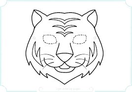 coloring page tiger paw coloring page tiger paw pages color good of a to print printable