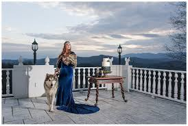 this game of thrones themed wedding shoot u2014with a dire wolf u2014will