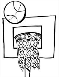 21 Basketball Coloring Pages Free Word Pdf Jpeg Png Format Basketball Color Page