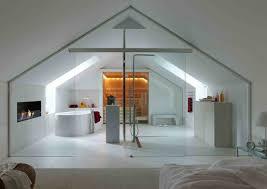 sauna im badezimmer badezimmer mit dachschräge sauna und glaswand home