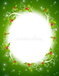 christmas holly wreath frame royalty free stock images image