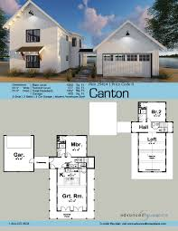 1 5 story modern farmhouse house plan canton