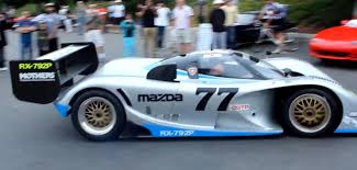 mazda cars for sale video brutal sound from mazda rx 792p race car at cars and coffee