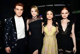riverdale cast at awards 2017 popsugar