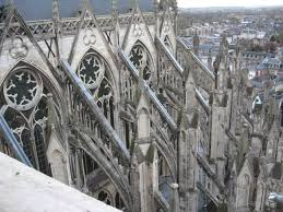 medieval churches and synagogues gothic style flying buttress