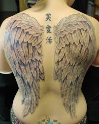 back wing tattoos for back wings by joshing88 on