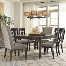 creative dining room chairs with nailhead trim interior design for
