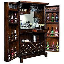 Bar Hutch Cabinet Amazon Com Rogue Valley Wine U0026 Bar Cabinet Kitchen U0026 Dining