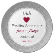 18th anniversary gifts for 18th wedding anniversary gifts on zazzle