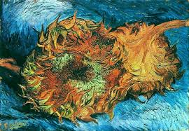 van gogh bedroom painting still life with two sunflowers 1887 by vincent van gogh