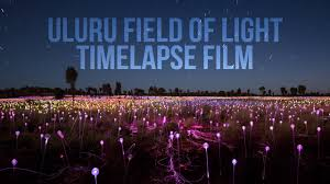 field of light uluru uluru field of light timelapse film youtube