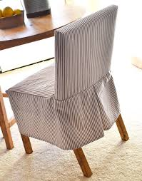 How To Make Chair Covers Outstanding How To Make Slipcovers For Dining Room Chairs 94 For