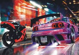 fast and furious cars wallpapers group 76 wall mural wallpaper 2 fast 2 furious car race car tuning photo