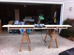 How To Make A Fold Down Workbench How Tos Diy by Make A Miter Saw Work Station Part 1 Thisiscarpentry Workshop