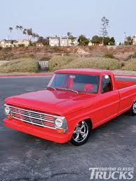 Classic Ford Truck Rims - 1968 ford f 100 pickup truck rod network
