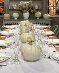 fall table setting thanksgiving holidays and autumn