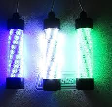 12 volt led fishing lights amazon com firewatermarine 12v led white or blue underwater