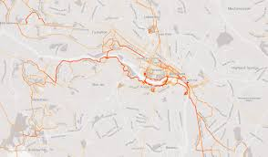 Vcu Map Data Sharing From Strava May Help Cities Plan Bike Infrastructure
