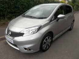 nissan note 2015 nissan note 1 2 n tec 5dr blade silver 2015 in sidmouth devon