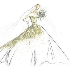jessica simpson u0027s wedding dress sketch revealed arabia weddings
