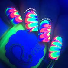 pipe dream polish a night in vegas u2013 rainbow water marble