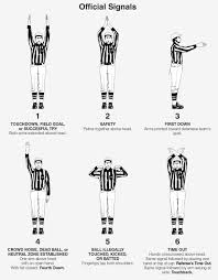 Flag Signals Meaning 2017 Nfl Rulebook Nfl Football Operations