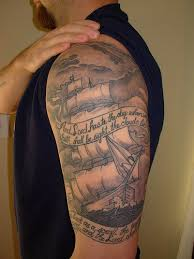 ships and sea life tattoos tatring