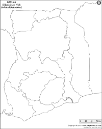 Blank Political Map Of South Africa by Blank Map Of Ghana Ghana Outline Map