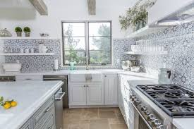 how to do backsplash tile in kitchen kitchen backsplash tile how high to go driven by decor