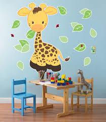giraffe giant wall decals birthdayexpress com