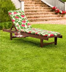 Outdoor Wood Chaise Lounge Eucalyptus Chaise Lounge Outdoor Furniture Plow U0026 Hearth