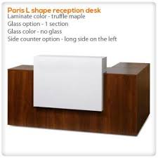 L Shaped Reception Desk Counter L Shape Reception Desk