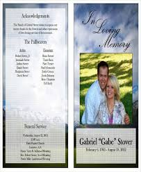 Elegant Funeral Programs Funeral Program Format 31 Funeral Program Templates Free Word