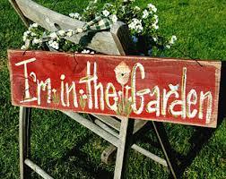 Country Garden Decor Rustic Garden Decor Etsy