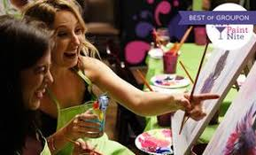 image for The Original Paint Nite at Local Bars  Up to     Off  Groupon